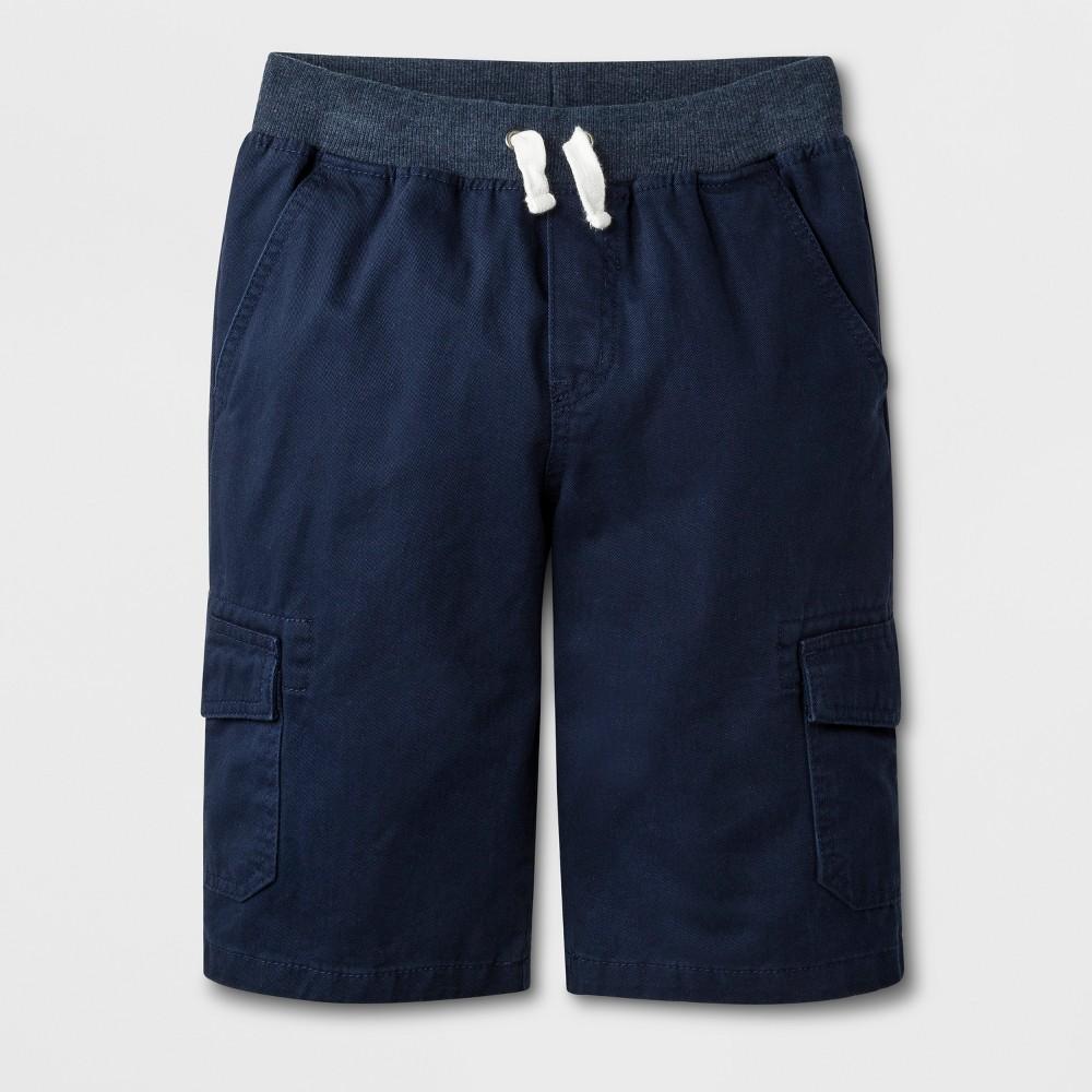 Boys' Cargo Shorts - Cat & Jack Navy (Blue) M