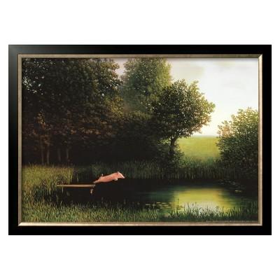 Art.com - Kohler's Pig Framed Print