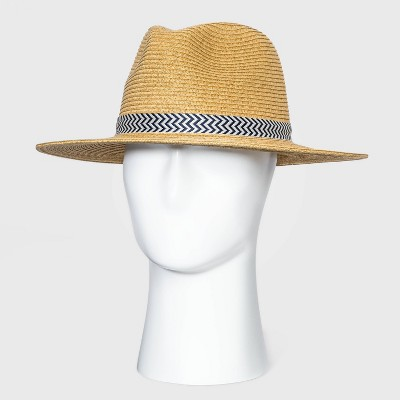 Men's Panama Hat - Goodfellow & Co™ Brown L/XL