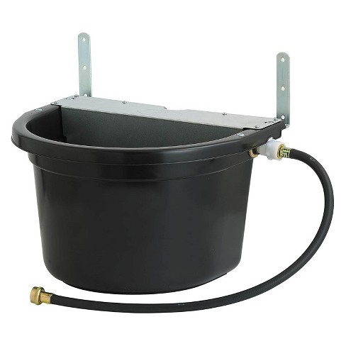 Little Giant FW16MTLBLACK 4 Gal. Float Controlled Waterer Livestock Water Trough - image 1 of 1