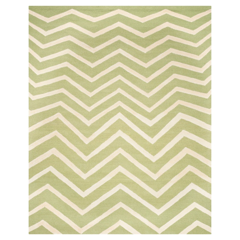 Safavieh Wilshire Area Rug - Green / Ivory ( 6' X 9' ), Green/Ivory