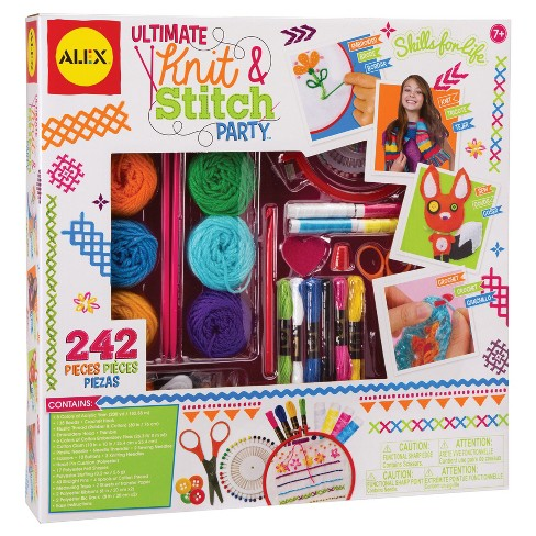 ALEX Toys Craft Ultimate Knit and Stitch Party - image 1 of 4
