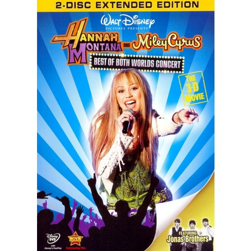Hannah Montana and Miley Cyrus: The Best of Both Worlds Concert - The 3-D Movie [2 Discs] - image 1 of 1