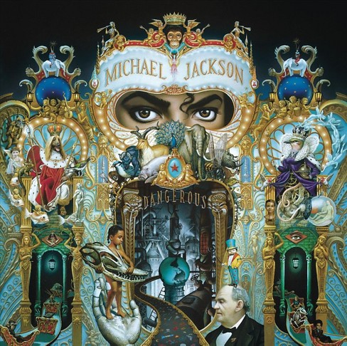 Michael jackson - Dangerous (CD) - image 1 of 1