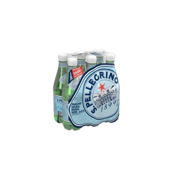 Sanpellegrino Sparkling Natural Flavored Sparkling Water - 6pk/0.5 L Bottles - image 1 of 5