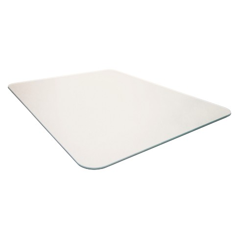 Glacier mat Reinforced Glass Chair Mat Executive Chair Mat For Hard Floors & All Pile Carpets - Cleartex - image 1 of 6