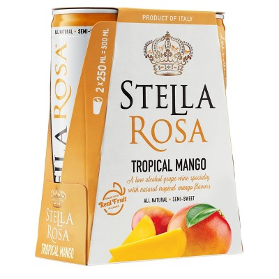 Stella Rosa Tropical Mango Wine - 2pk/250ml Cans