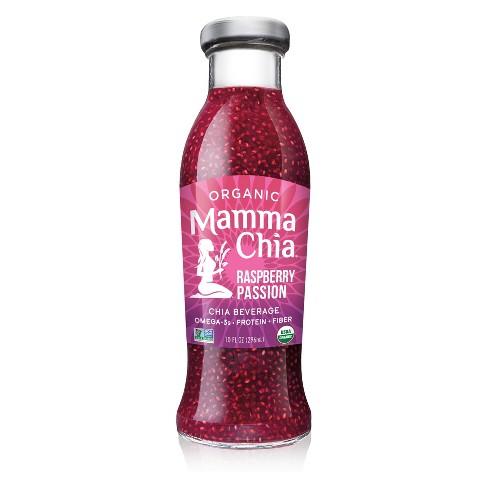 Mamma Chia Organic Vegan Raspberry Passion Chia Beverage - 10 fl oz - image 1 of 4