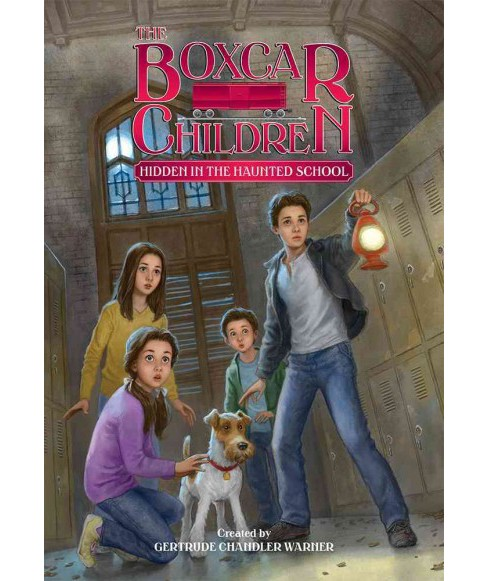 Hidden in the Haunted School (Paperback) - image 1 of 1