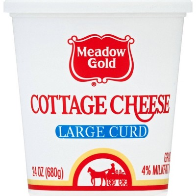 Meadow Gold Large Curd Cottage Cheese - 24oz