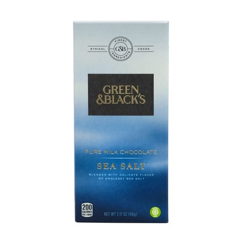 Green & Black's Sea Salt Pure Milk Chocolate Candy Bar - 3.17oz - image 1 of 4