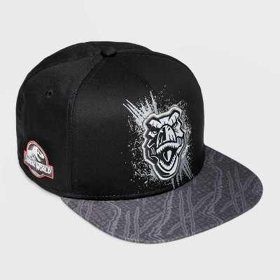 Boys' Jurassic World Baseball Hat - Black