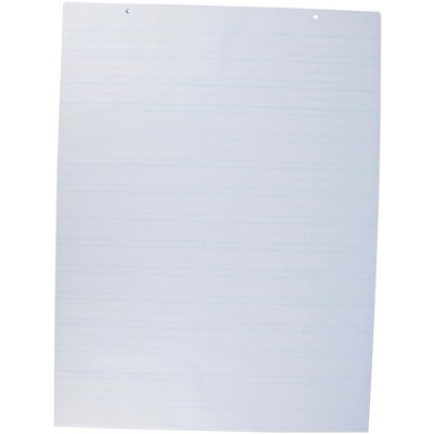 2-Hole Chart Paper, 16 lbs, 24 x 32 Inches, White, pk of 100