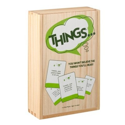 Game of Things Wood Box Game