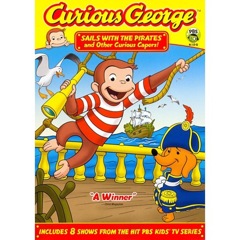 Curious George: Sails with the Pirates and Other Curious Capers (dvd_video) - image 1 of 1