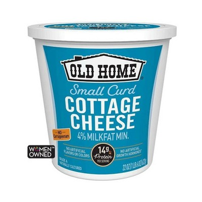 Old Home Small Curd Cottage Cheese - 22oz