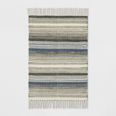 2'X3' Stripe Woven Accent Rugs Brown - Threshold™