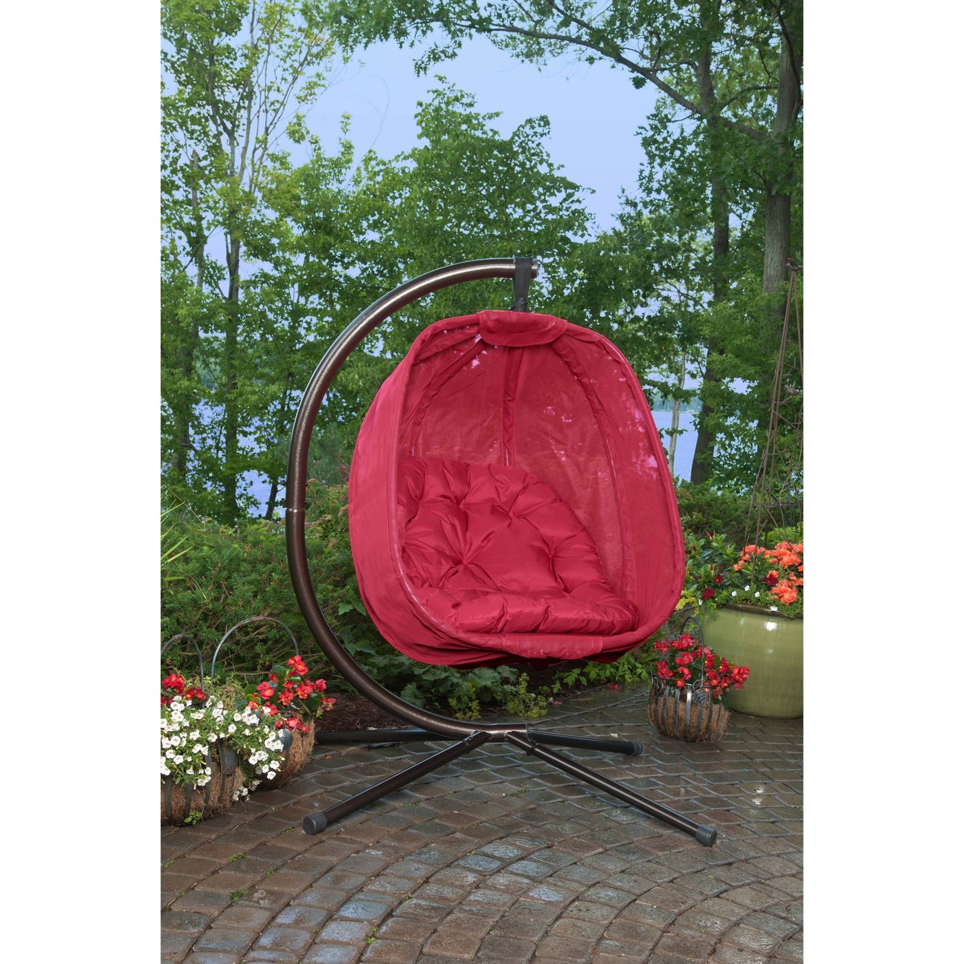 Hanging Egg Chair with Stand - FlowerHouse - image 2 of 2