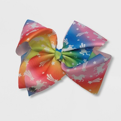 Girls' JoJo Siwa Pastel Unicorns Bow Hair Clip
