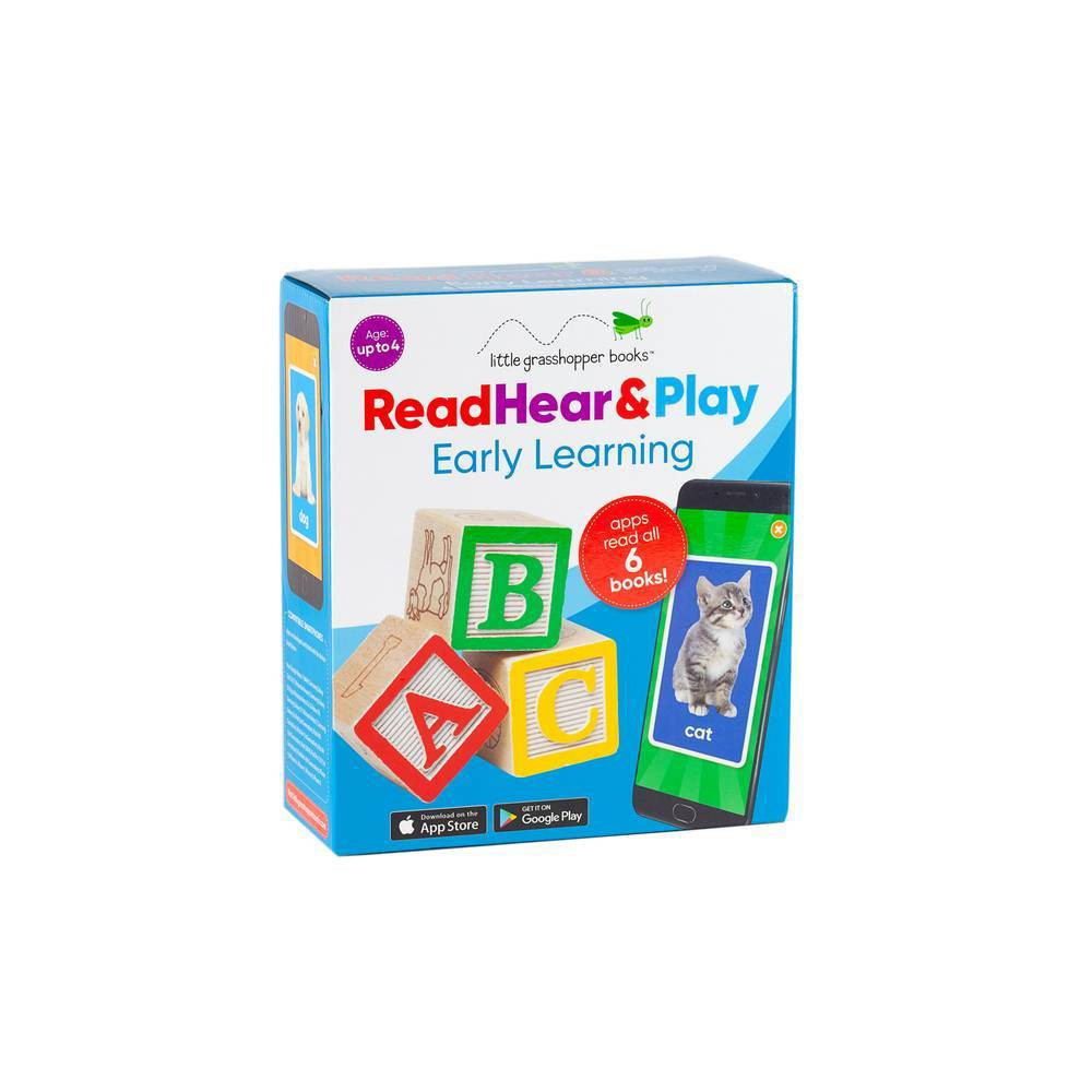 Read Hear Play Early Learning 6 First Word Books Downloadable Apps Hardcover
