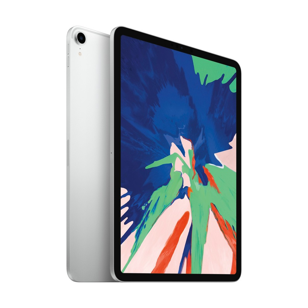 Apple iPad Pro 11-inch 64GB Wi-Fi Only (2018 Model, 3rd Generation, MTXP2LL/A) - Silver