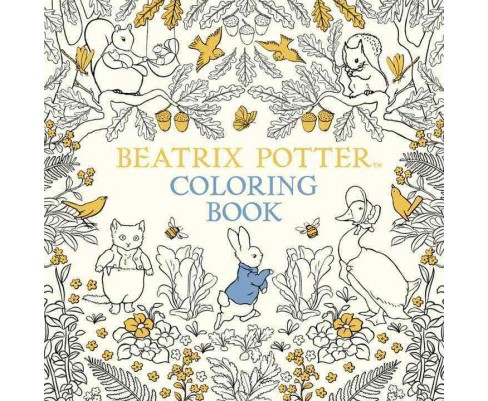 Beatrix Potter Coloring Book (Paperback) - image 1 of 1