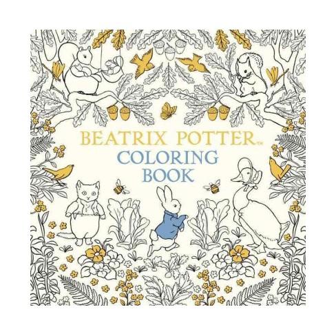 Beatrix Potter Coloring Book Paperback Target