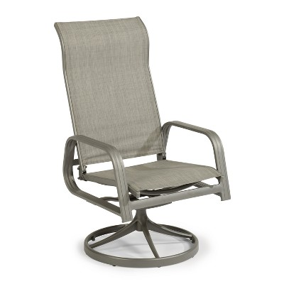 Beau Daytona Outdoor Swivel Chair   Dark Gray   Home Styles