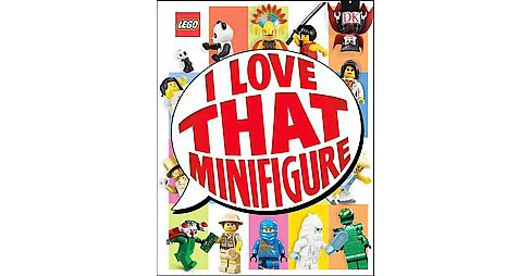 Lego I Love That Minifigure! (Library) (Jen Anstruther) - image 1 of 1