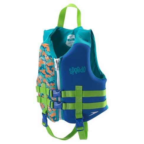 Speedo Child Boys Neoprene Lifevest - Blue - image 1 of 2