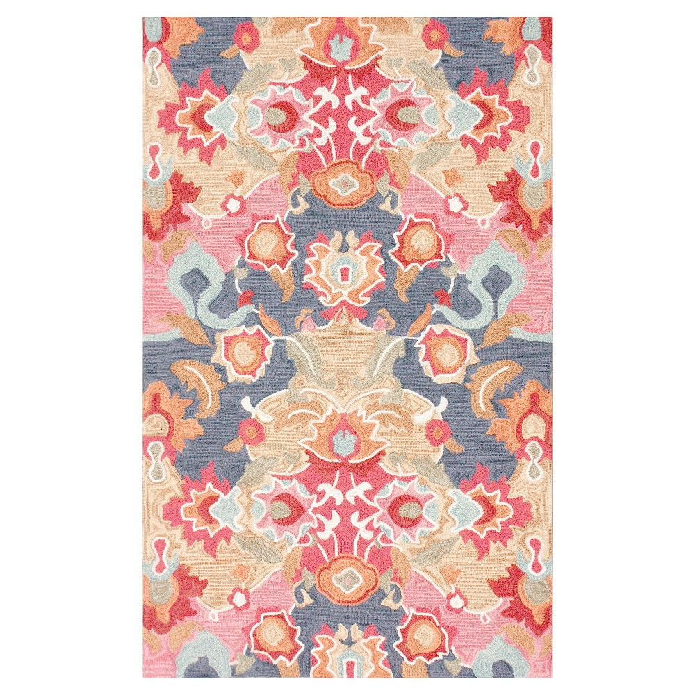 nuLOOM Hand Tufted Felicity Area Rug (8' 3 x 11'), Multi-Colored