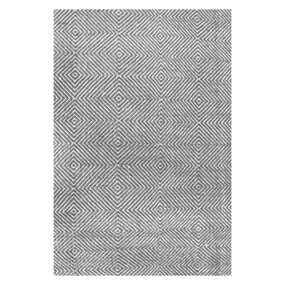 Gray Solid Tufted Area Rug 8'X10' - nuLOOM