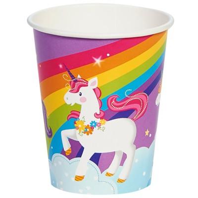 Fairytale Unicorn Party 9oz 8ct Paper Cup