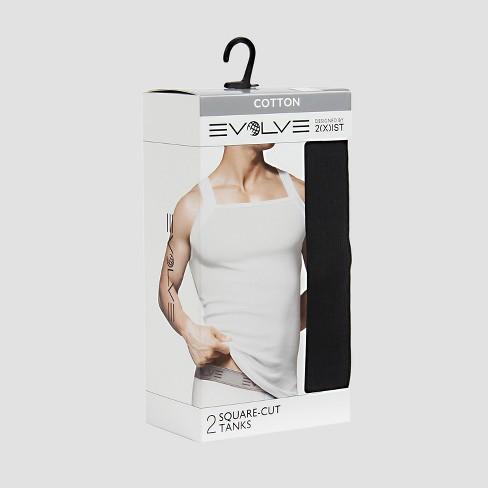 a6987eec9d0dc ... Men s Cotton Square Cut Tank Shirt 2pk. Shop all Evolve by 2(X)IST