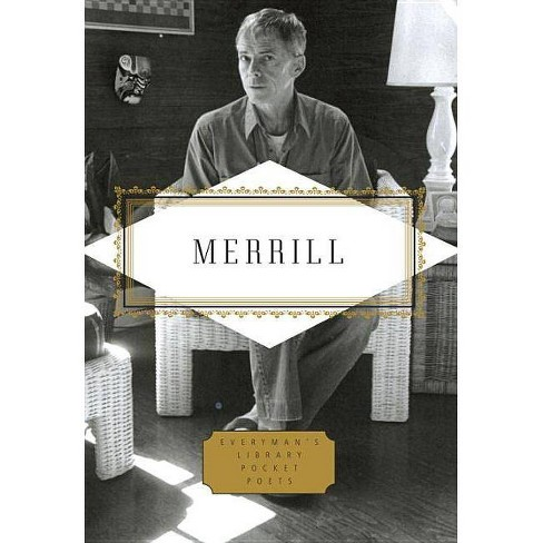 Merrill: Poems - (Pocket Poets)by  James Merrill (Hardcover) - image 1 of 1
