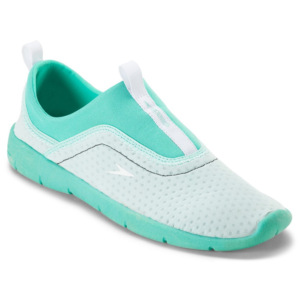 Speedo Adult Women's Aqua (Blue)skimmer Water Shoes - Aqua (Large)