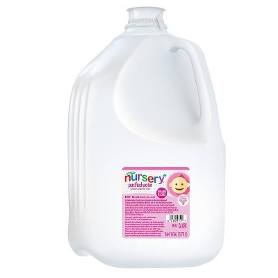 Nursery Water with added fluoride - 128 fl oz