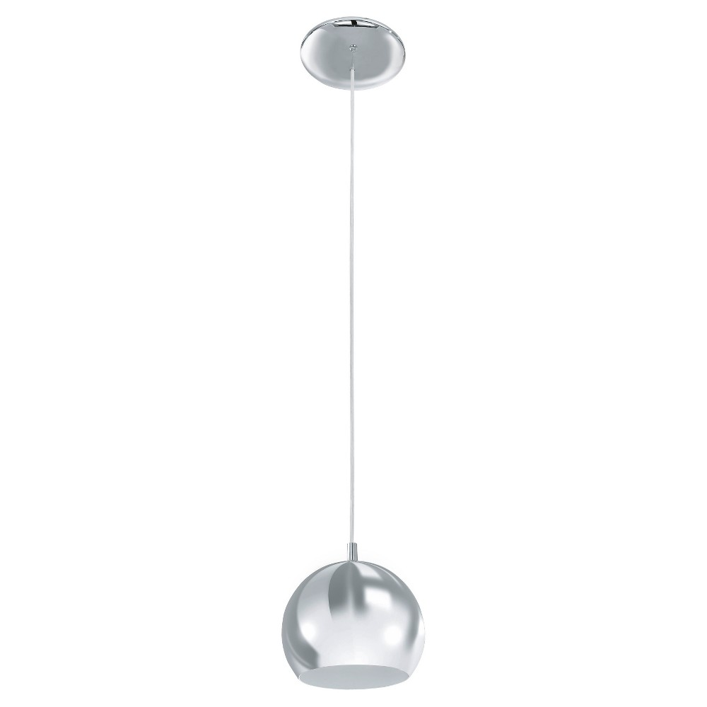 "Image of ""Petto Pendant Ceiling Light 6"""" Diameter Brushed Nickel - Eglo"""