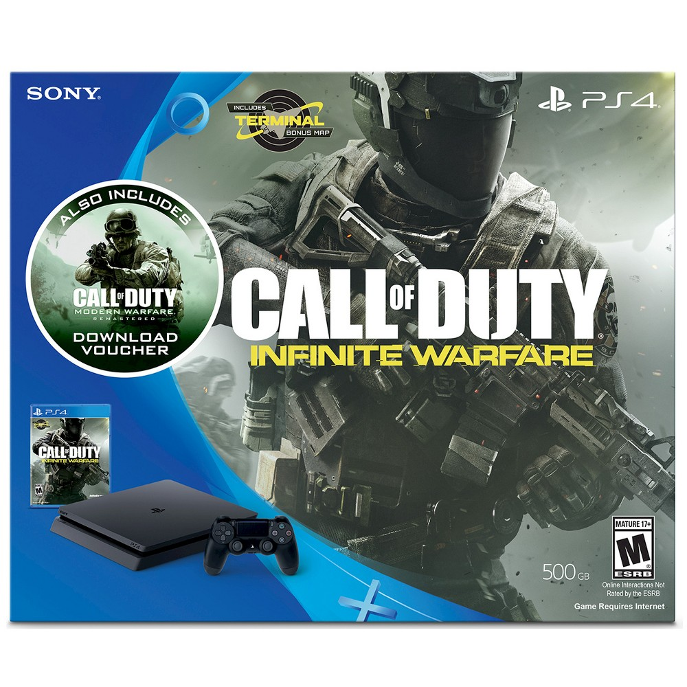 Call of Duty: Infinite Warfare PlayStation 4 Bundle, Black