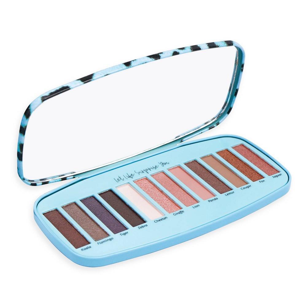 Image of CAI Animal Print Eyeshadow Palette - Blue