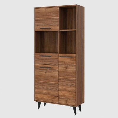 "63"" Lindon Bookcase Mahogany - RST Brands"