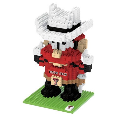 NCAA Texas Tech Red Raiders 3D BRXLZ Mascot Puzzle 1000pc - image 1 of 1