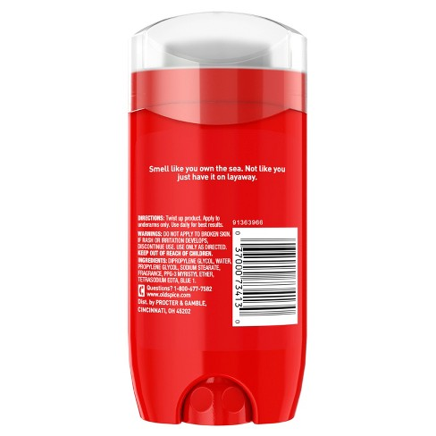 Old Spice Red Collection Captain Deodorant - 3oz