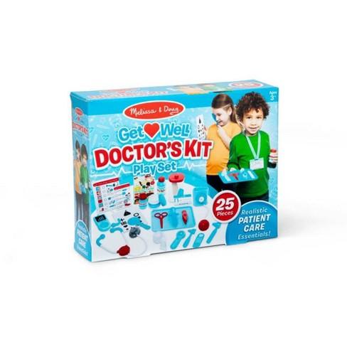 Melissa Doug Get Well Doctor S Kit Play Set
