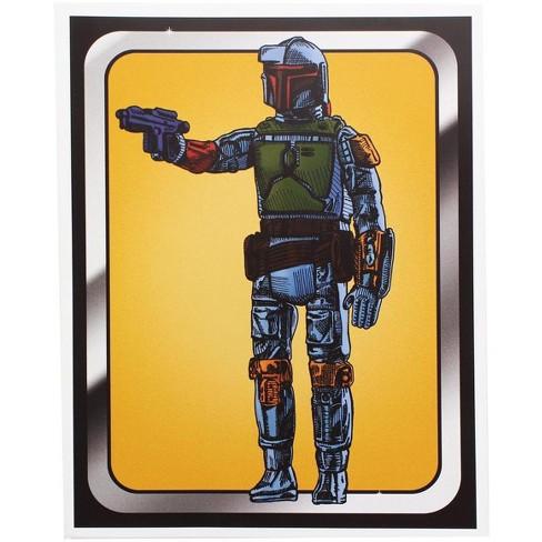 Nerd Block Star Wars Boba Fett Figure 8x10 Art Print by Russ Moore (Nerd Block Exclusive) - image 1 of 1