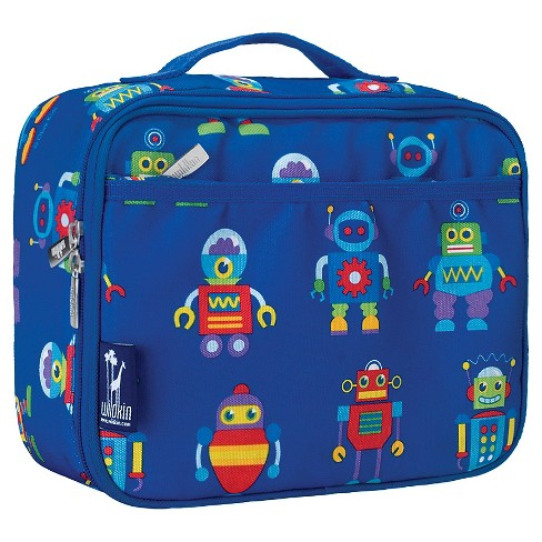 Wildkin Olive Kids Robots Lunch Box - image 1 of 1