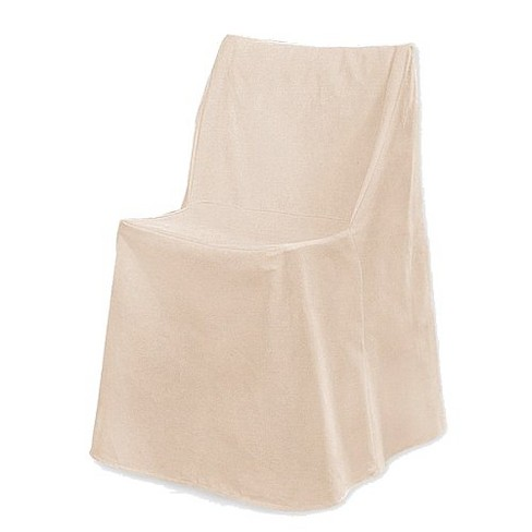 Stupendous Cotton Duck Folding Chair Cover Natural Sure Fit Andrewgaddart Wooden Chair Designs For Living Room Andrewgaddartcom