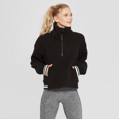 9139cace90cc Women s Sherpa Fleece Pullover - C9 Champion® Black XS   Target