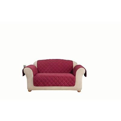 Comfort Memory Foam Loveseat Furniture Cover - Sure Fit
