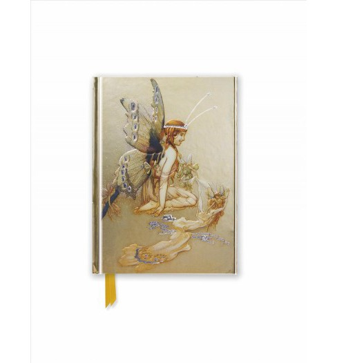 Goble : Pretty Pair of Wings - Foiled Pocket Journal (New) (Hardcover) - image 1 of 1